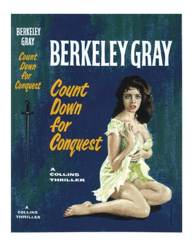 Gray, Berkeley - Count Down for Conquest | front cover