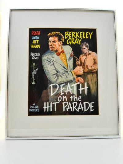 Gray, Berkeley - Death on the Hit Parade ( Original Dustwrapper Artwork ) - SIGNED | front cover