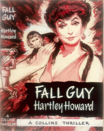 Howard, Hartley - Fall Guy ( Original Dustwrapper Artwork ) | front cover