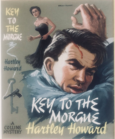 Howard, Hartley - Key To The Morgue (Original Dustwrapper Artwork) | front cover