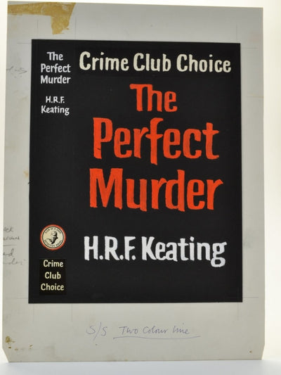 Keating, H R F - The Perfect Murder ( Original Dustwrapper Artwork ) | front cover