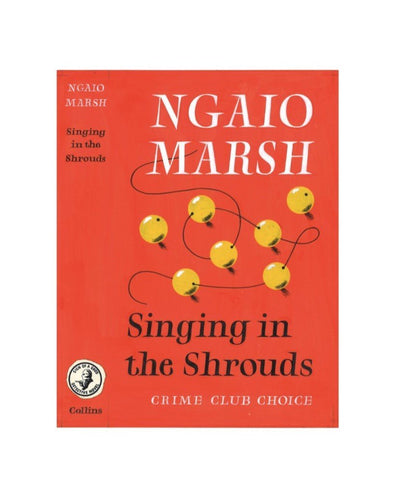 Marsh, Ngaio - Singing in the Shrouds (Original Dustwrapper Artwork) | front cover
