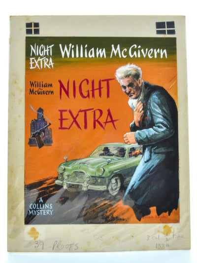 McGivern, William - Night Extra ( Original Dustwrapper Artwork ) - SIGNED | front cover