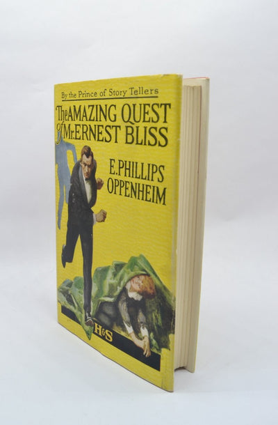 Oppenheim, E Phillips - The Amazing Quest of Mr Ernest Bliss | front cover