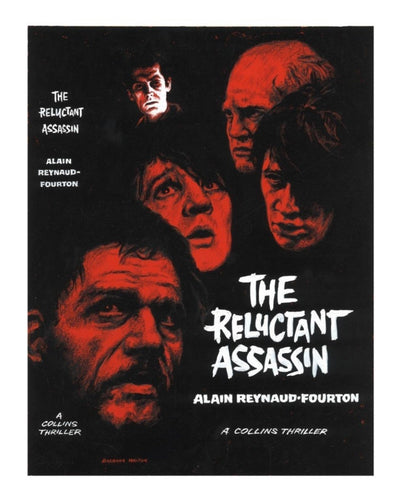 Reynaud-Fourton, Alain - The Reluctant Assassin (Original Dustwrapper Artwork) | front cover