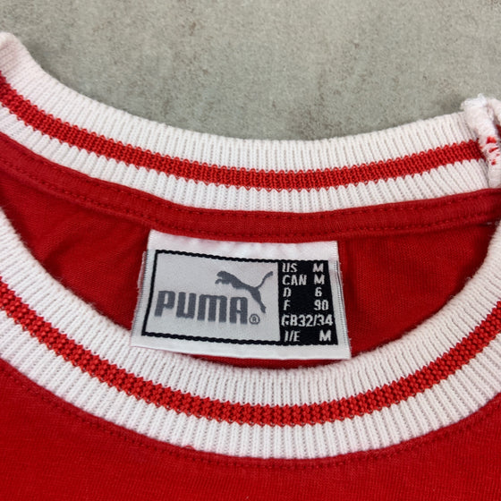 Vintage Puma Fuoriclasse Cup T-Shirt Medium