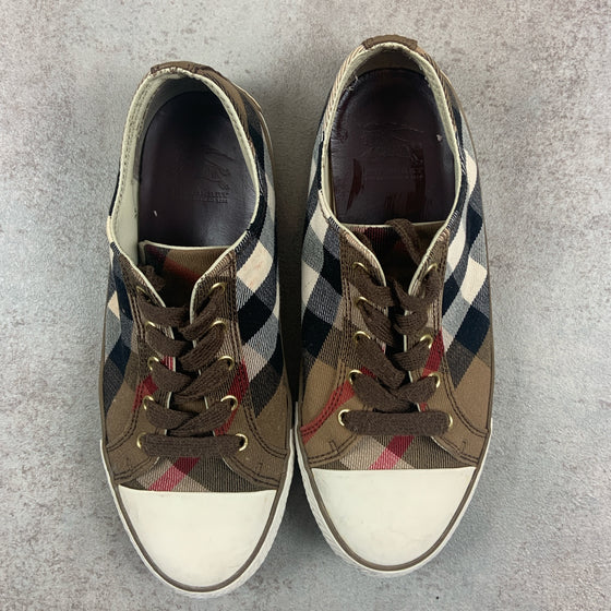 Vintage Burberry Trainers UK 6