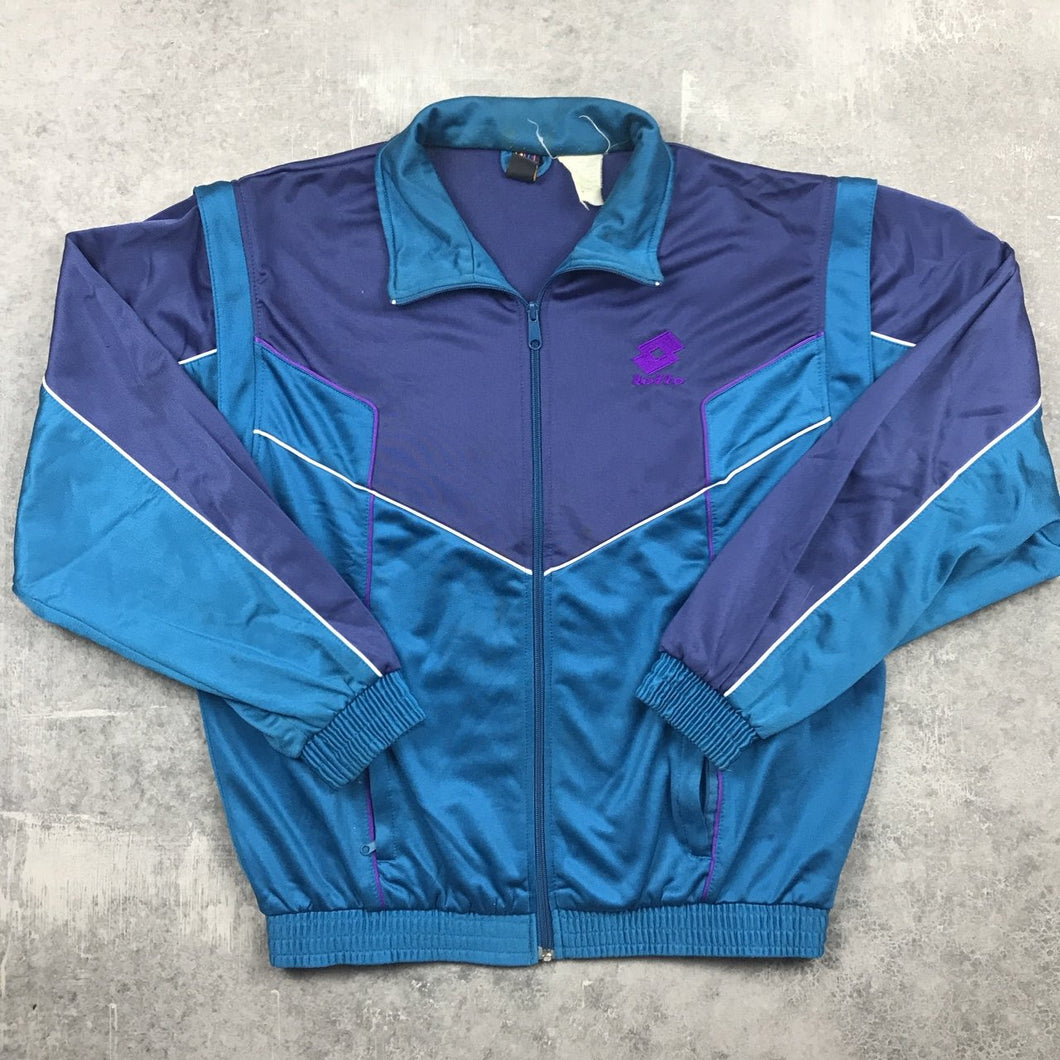 Vintage Lotto Track Top Medium