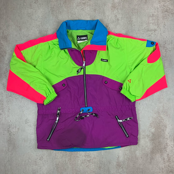 Vintage Pullover Windbreaker Medium