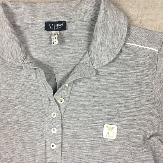 Vintage Armani Polo Shirt Medium