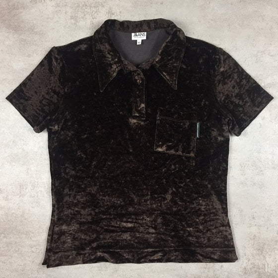 Women's Vintage Dolce & Gabbana Polo Shirt Medium