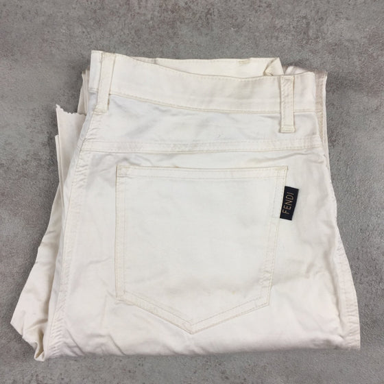 Women's Vintage Fendi Trousers W31 L28