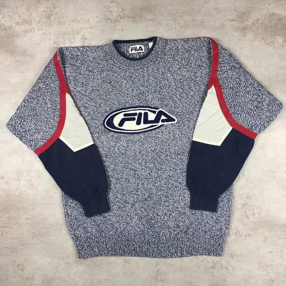 Vintage Fila Sweater Large