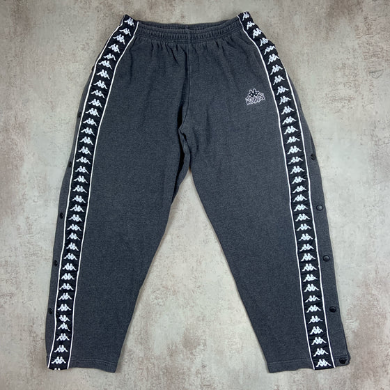 Vintage Kappa Track Bottoms Large