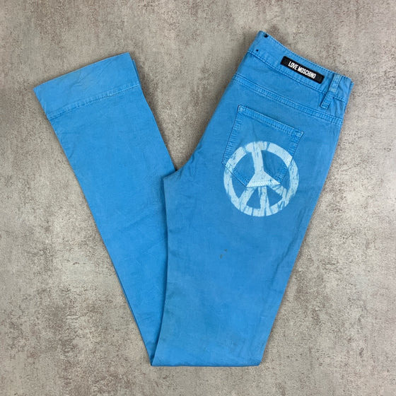 Women's Vintage Moschino Low-rise Trousers W27 L33