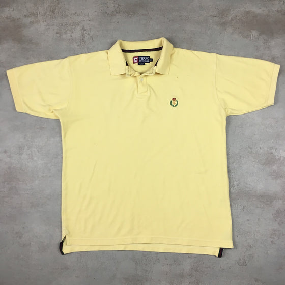 Vintage Chaps Polo Shirt Medium