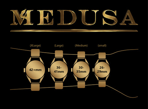 Medusa Watch Size on Wrist