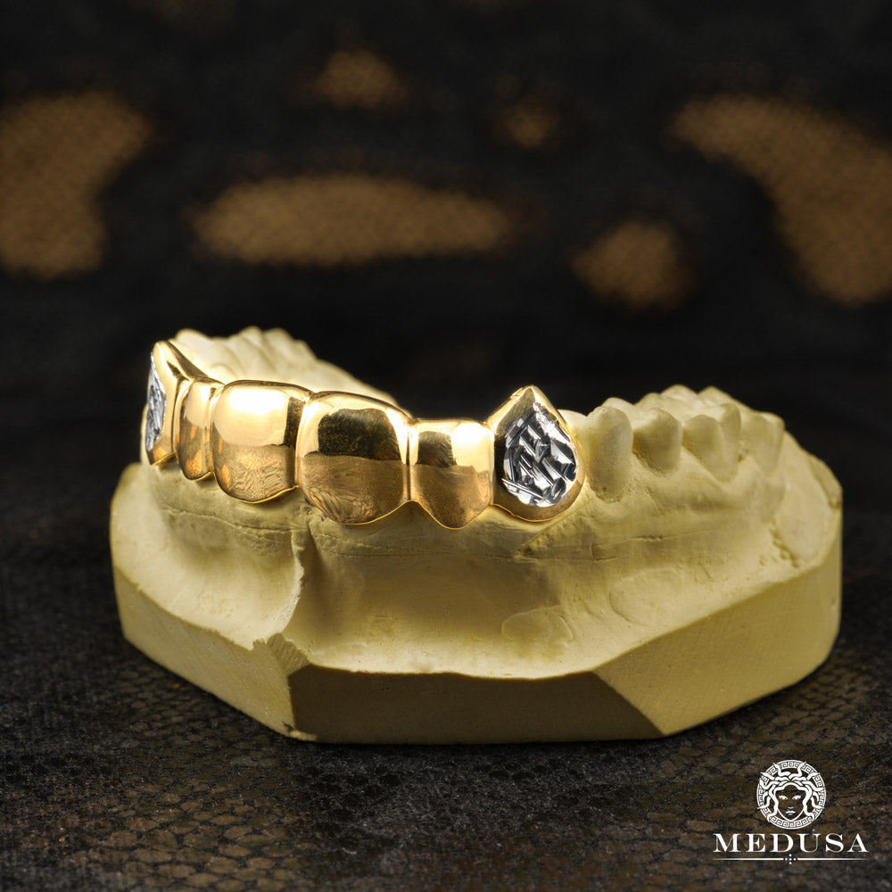Grillz Sur Mesure en Or Jaune 14K