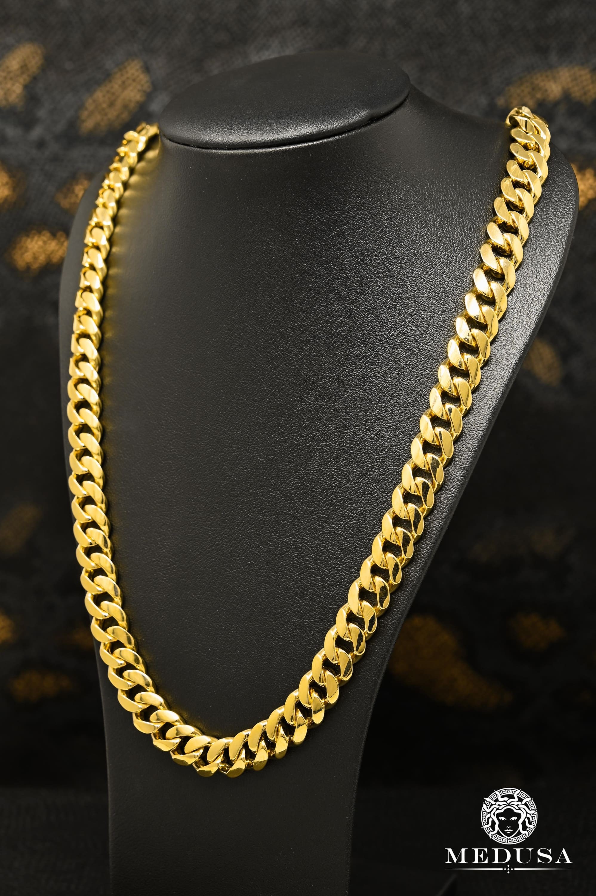 11mm Cuban Link Solid