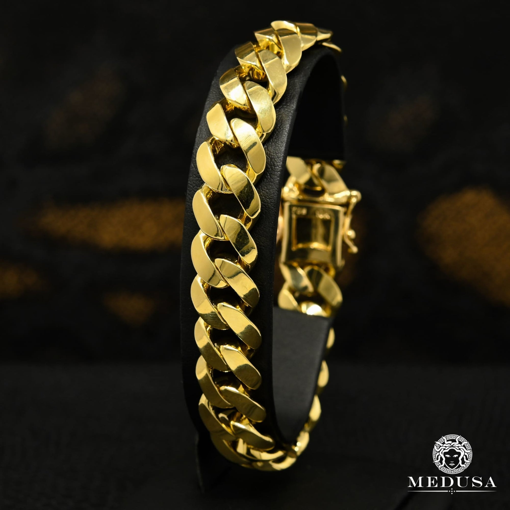 13.5mm Bracelet Cuban Solid