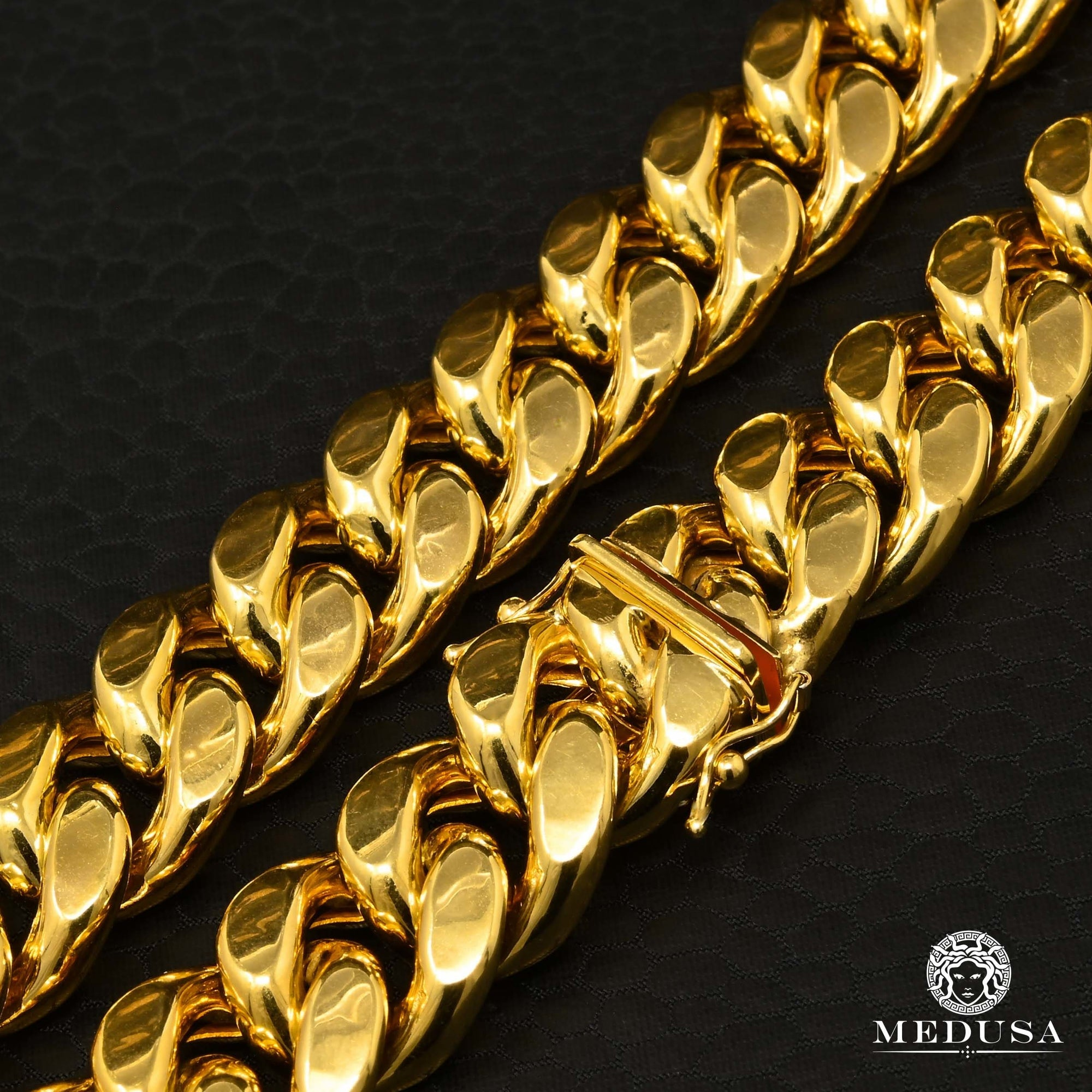 15mm Bracelet Cuban Link