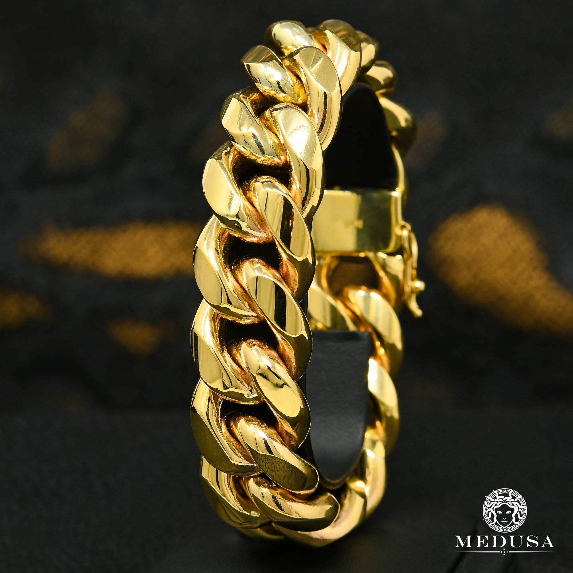 21mm Bracelet Miami Cuban Jumbo