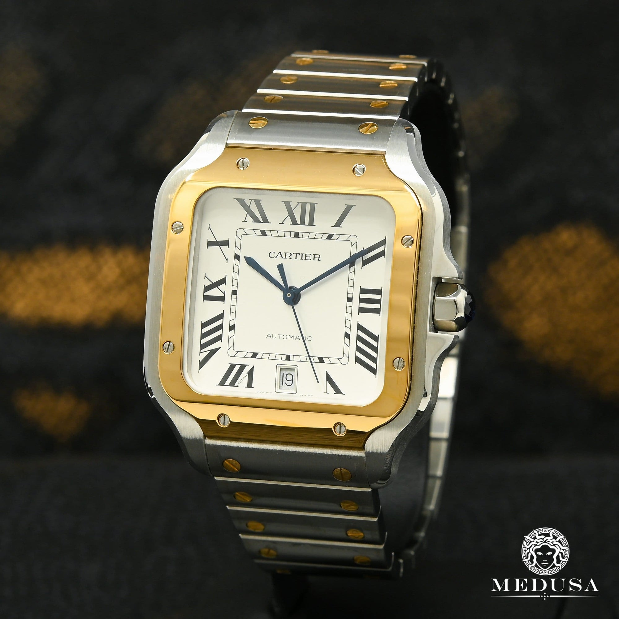 40mm Cartier Santos 2 Tons