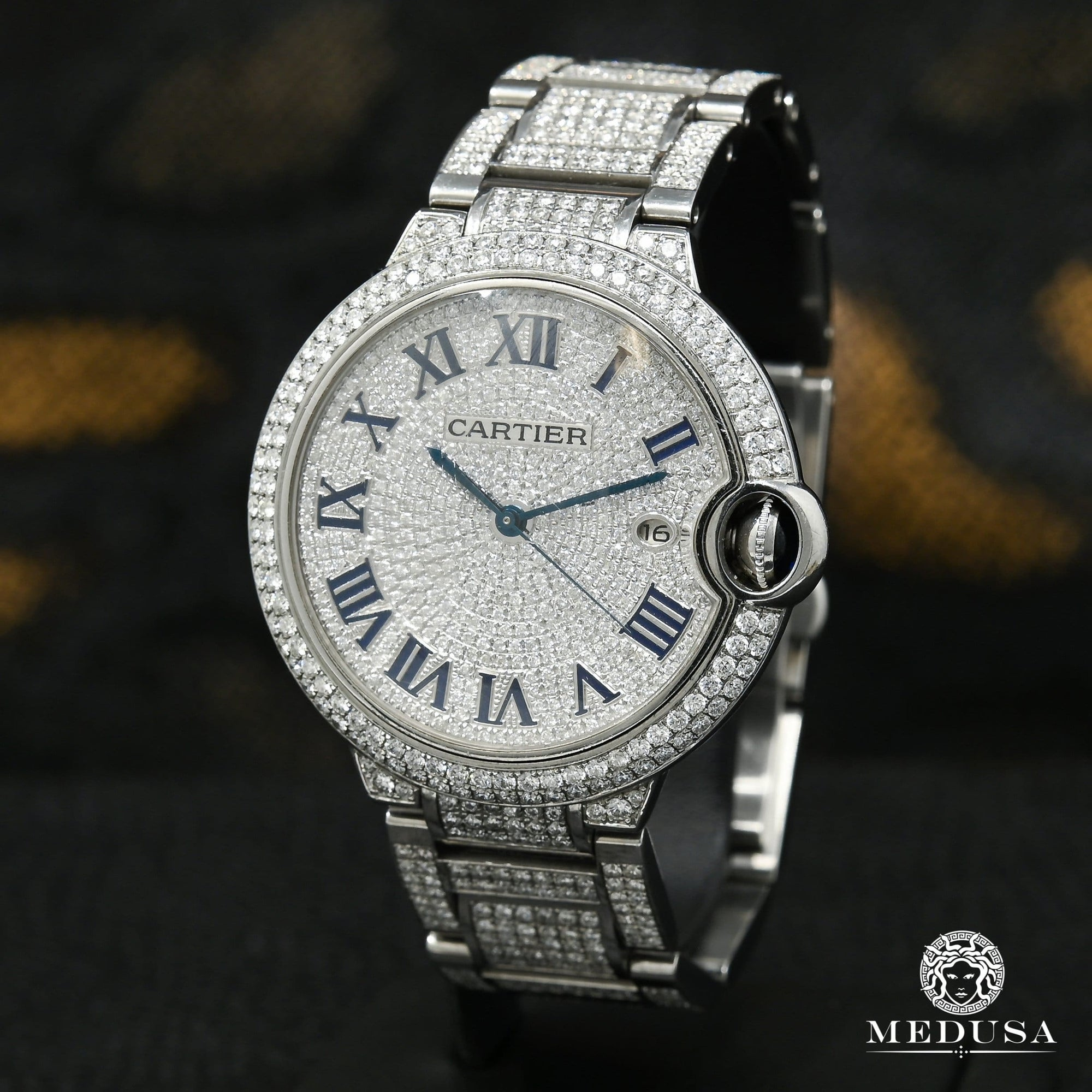 42mm Cartier Ballon Bleu - Iced
