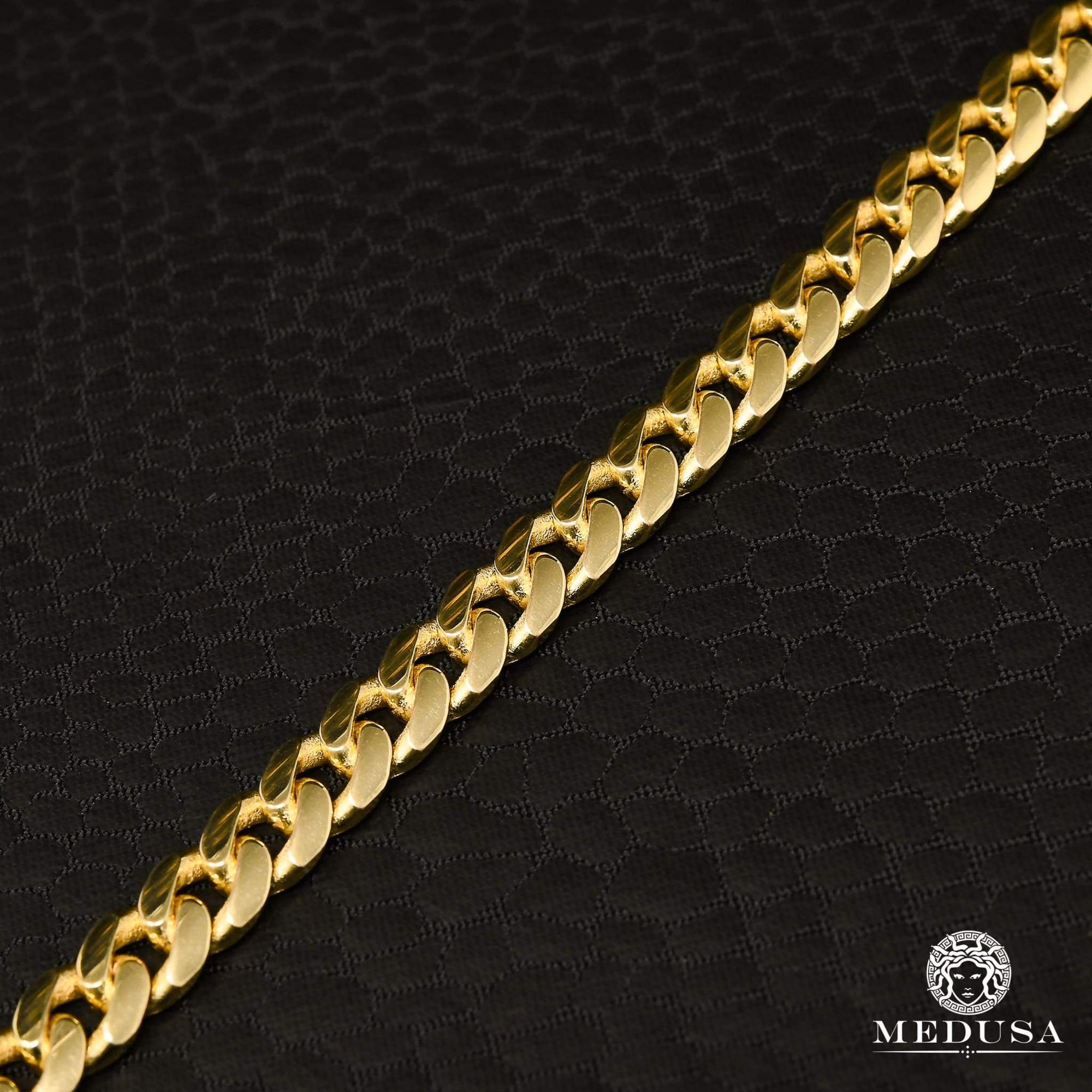 6mm Bracelet Cuban Link Solid