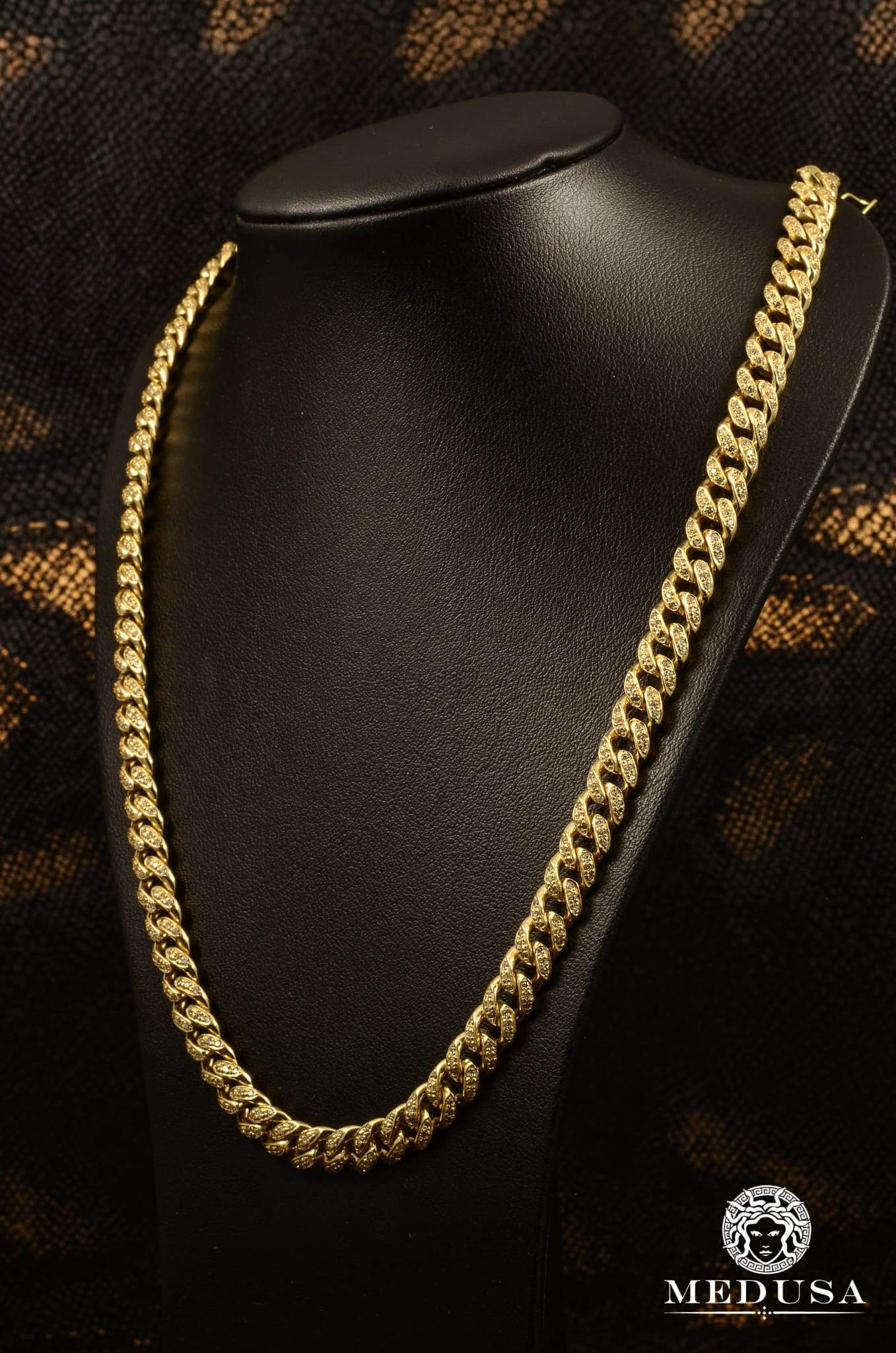 8mm Cuban Link Diamant