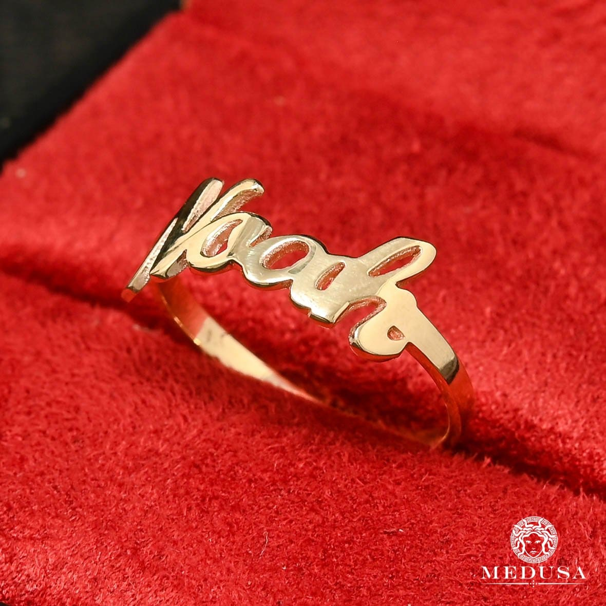 Custom Name Ring