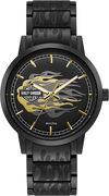 Bulova Watch | Bulova Harley-Davidson Man Watch - 78A121 Black Gold
