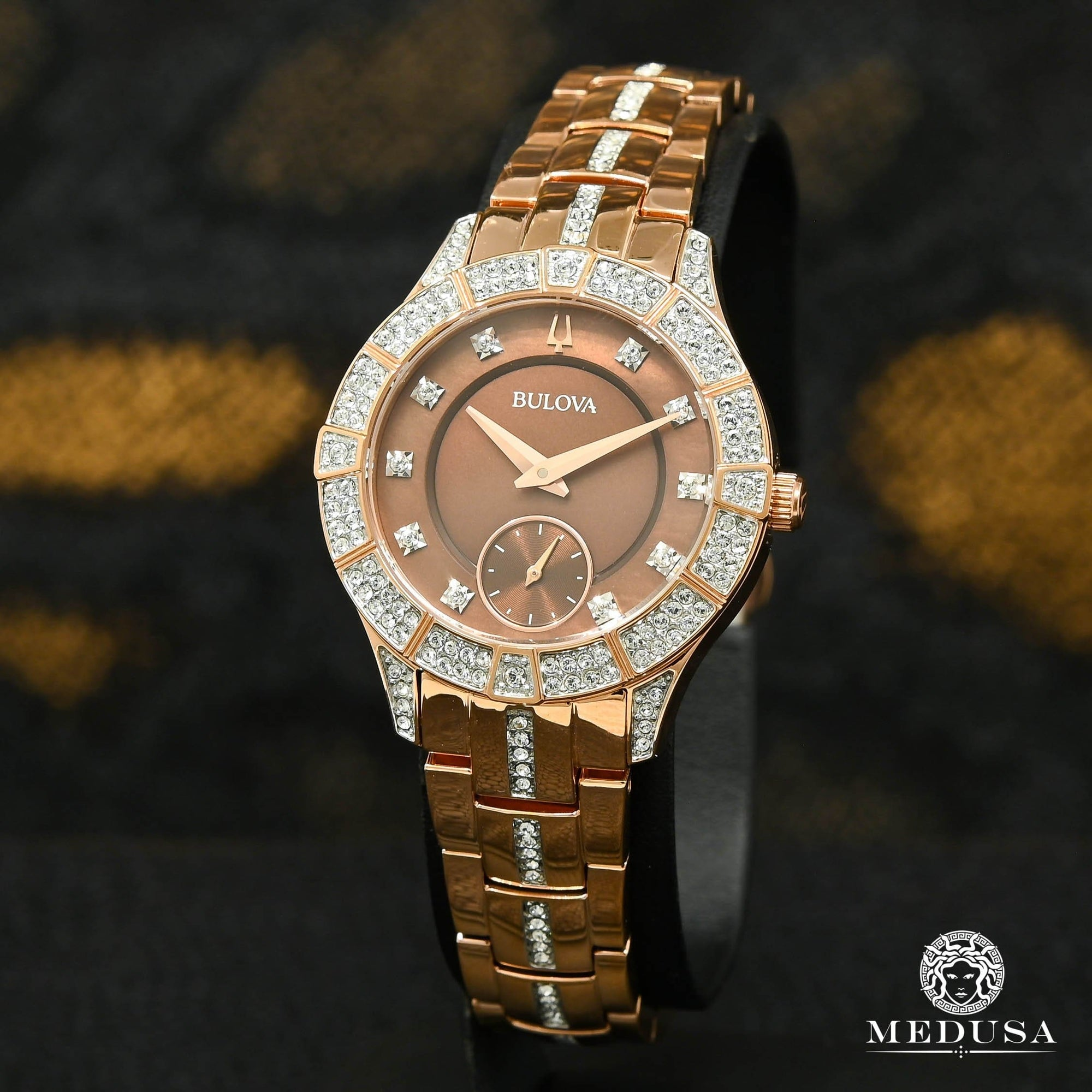 Bulova Watch | Bulova Phantom Ladies Watch - 98L284 Rose Gold