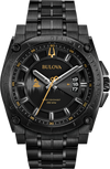 Bulova Watch | Bulova Precisionist Man Watch - 98B295 Black Gold