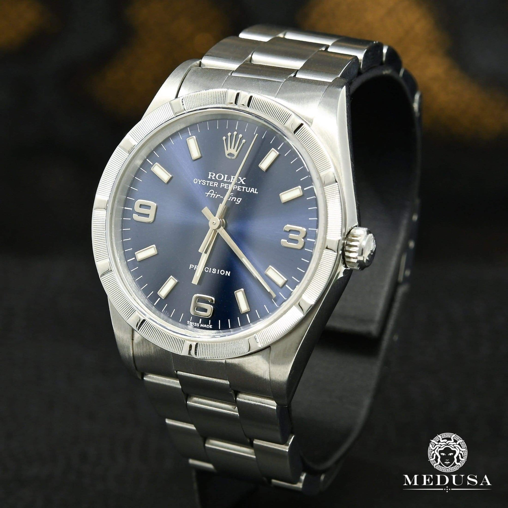 Rolex Air-King 34mm - Blue