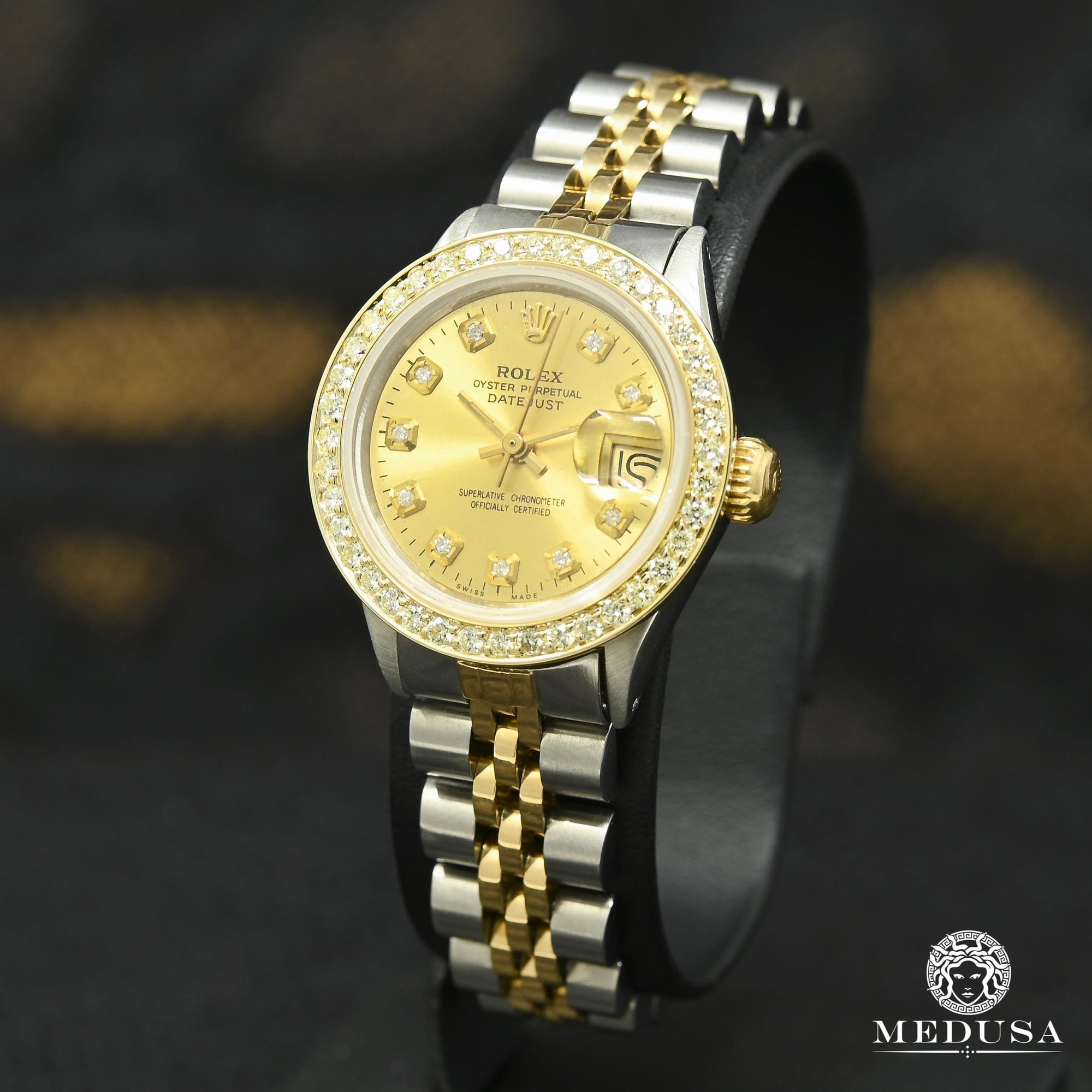 Rolex watch Rolex Women's Watch Datejust 26mm - Champagne Gold 2 Tons