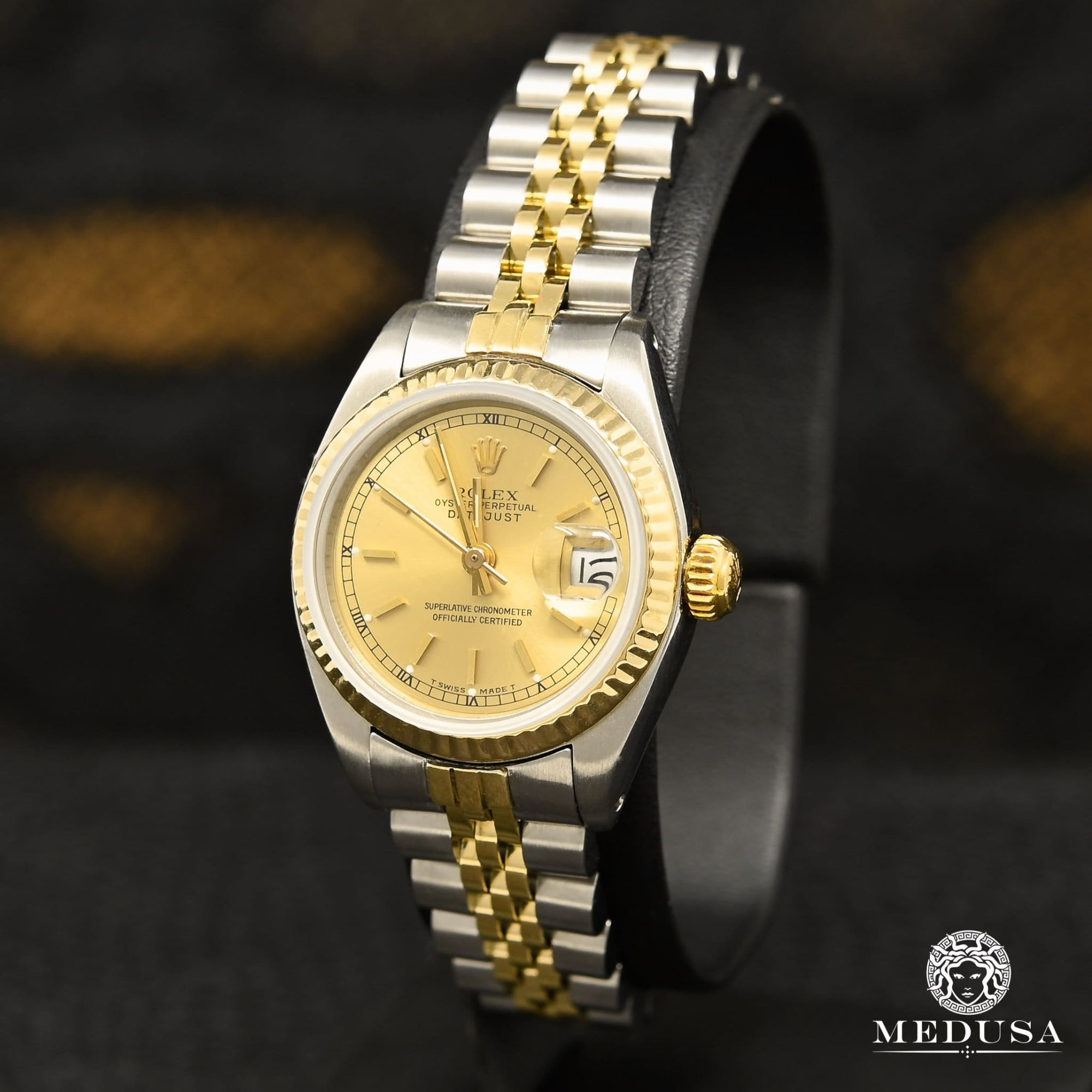 Montre Rolex | Montre Femme Rolex Datejust 26mm - Gold Or 2 Tons