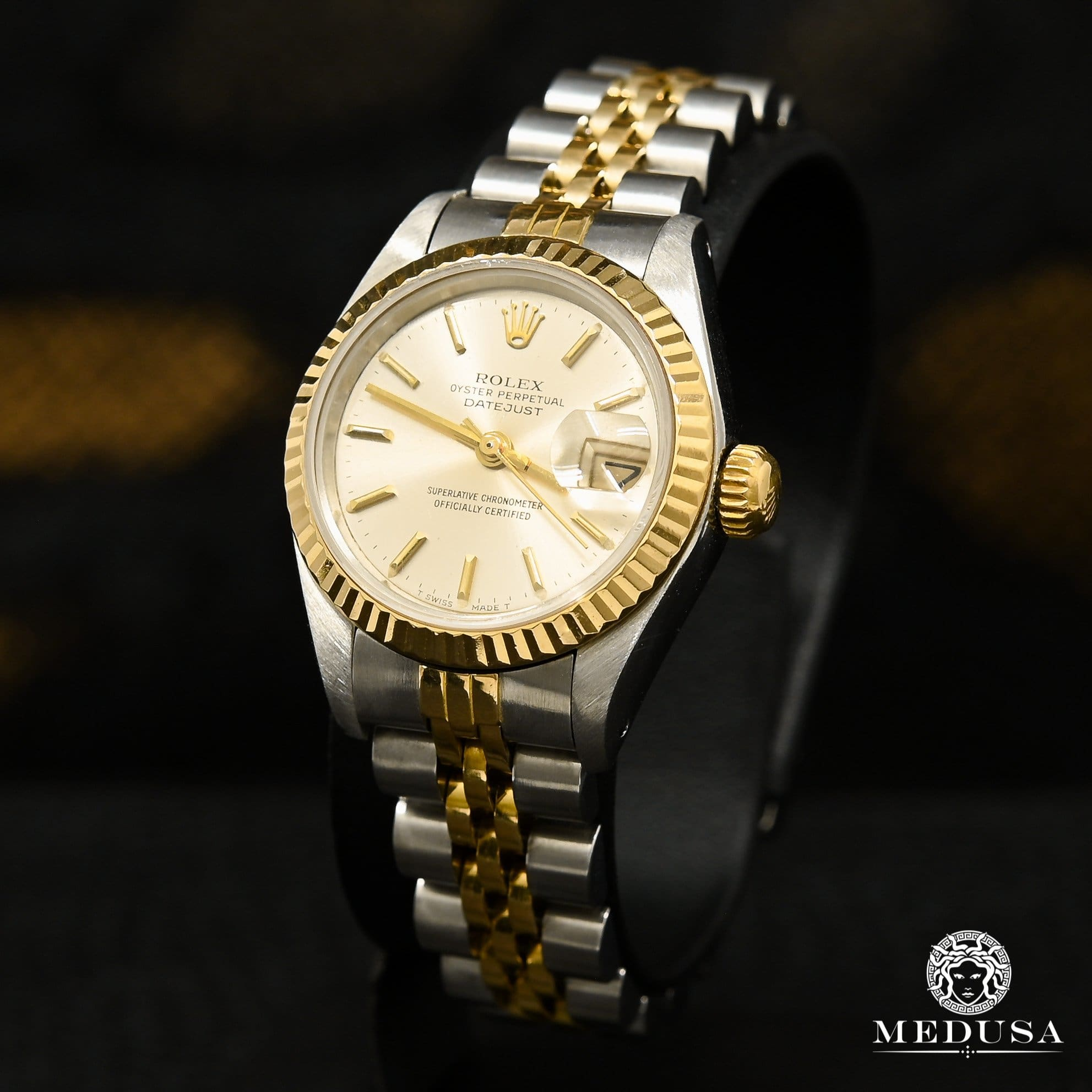 Montre Rolex | Montre Femme Rolex Datejust 26mm - Silver Or 2 Tons
