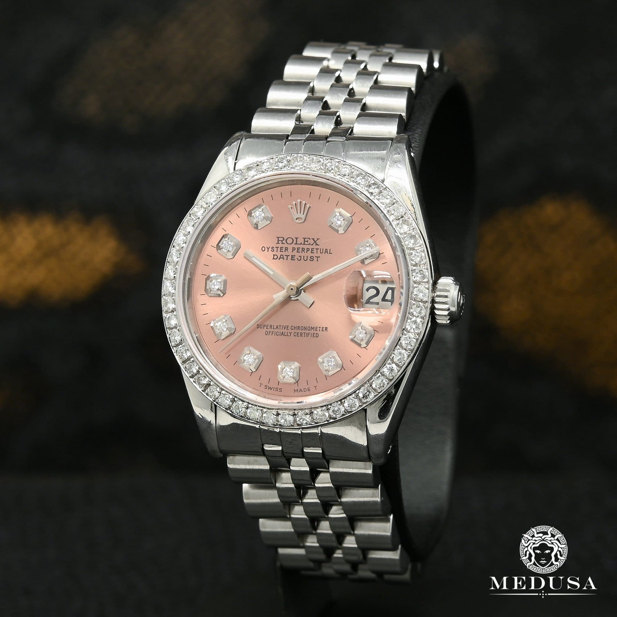 Rolex watch | Rolex Datejust 31mm Woman Watch - Chocolate Stainless Stainless
