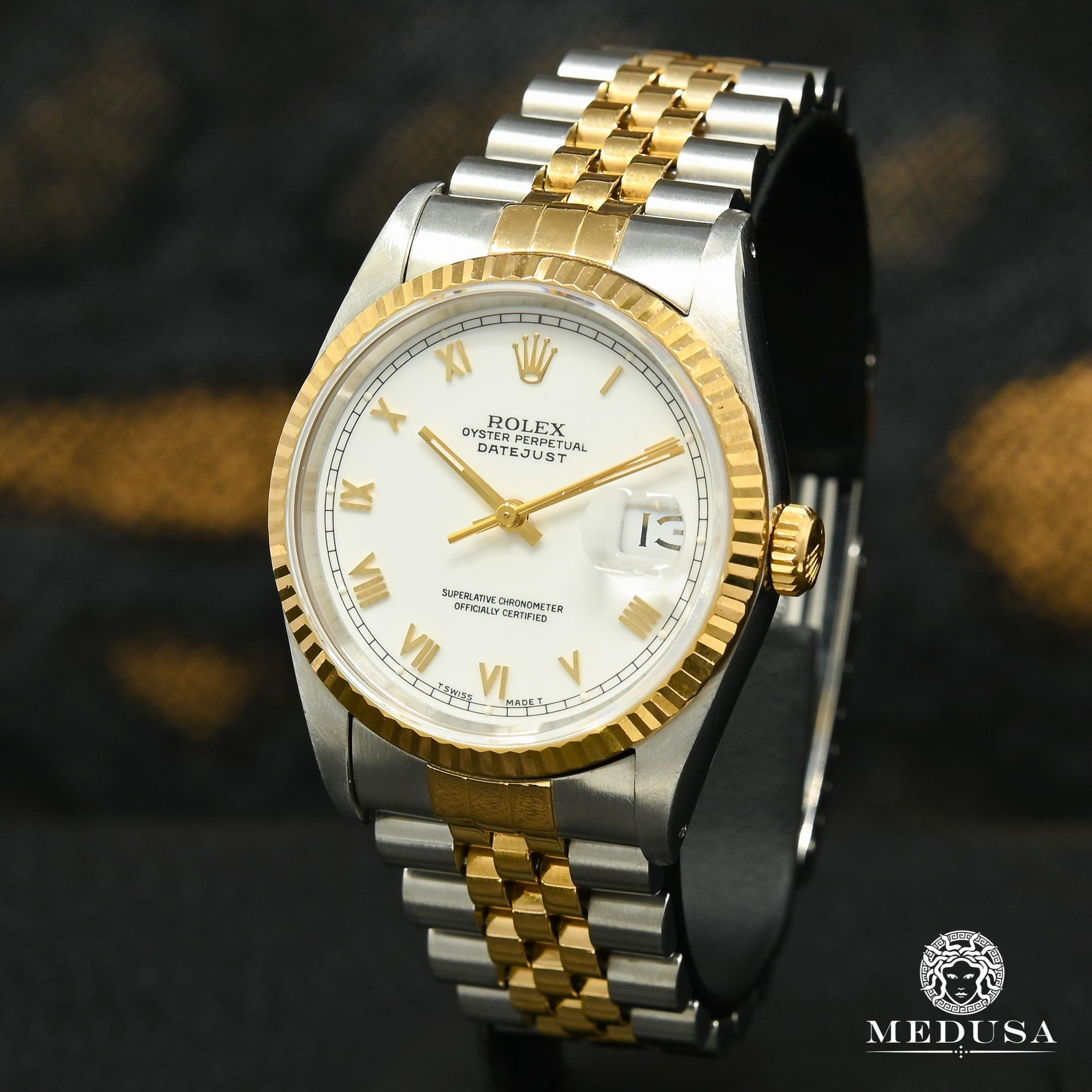 Rolex Datejust 36mm - Blanc Romain
