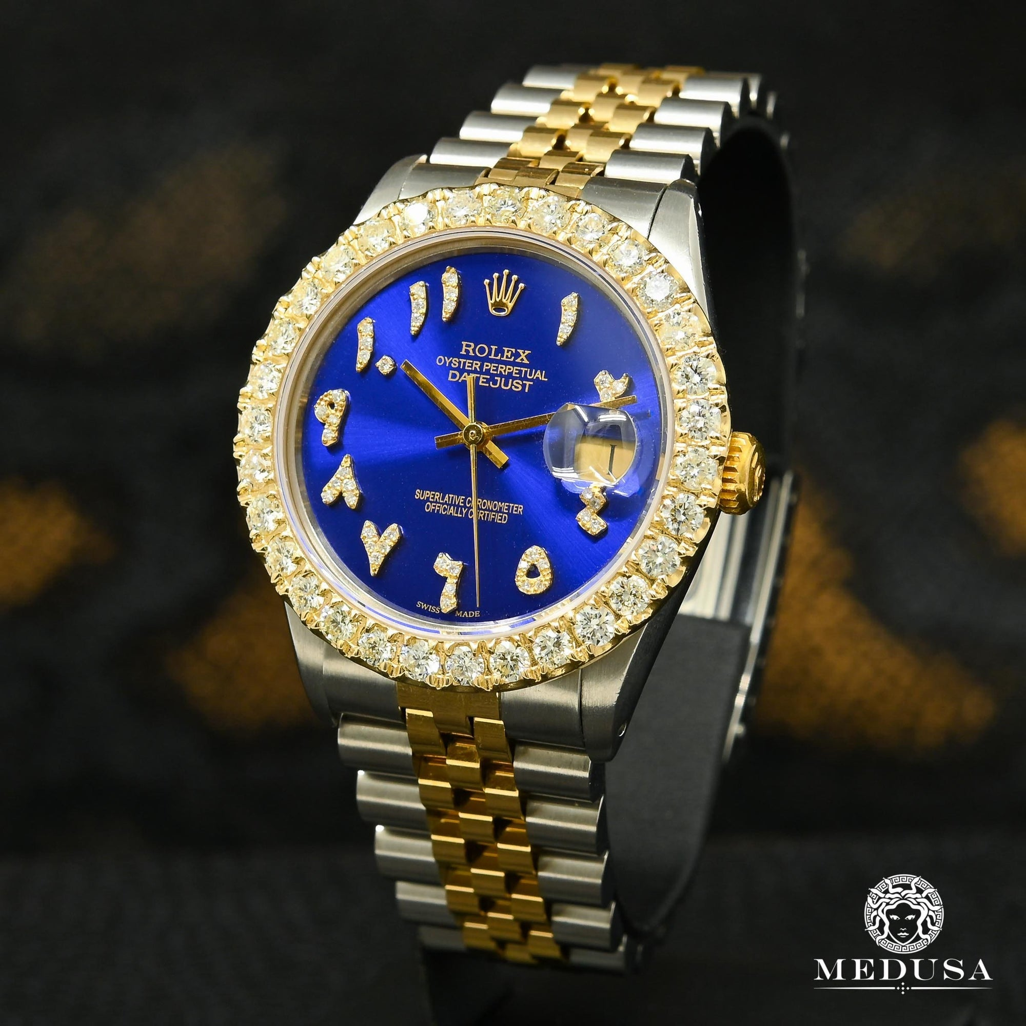Rolex Datejust 36mm - Blue Arabic