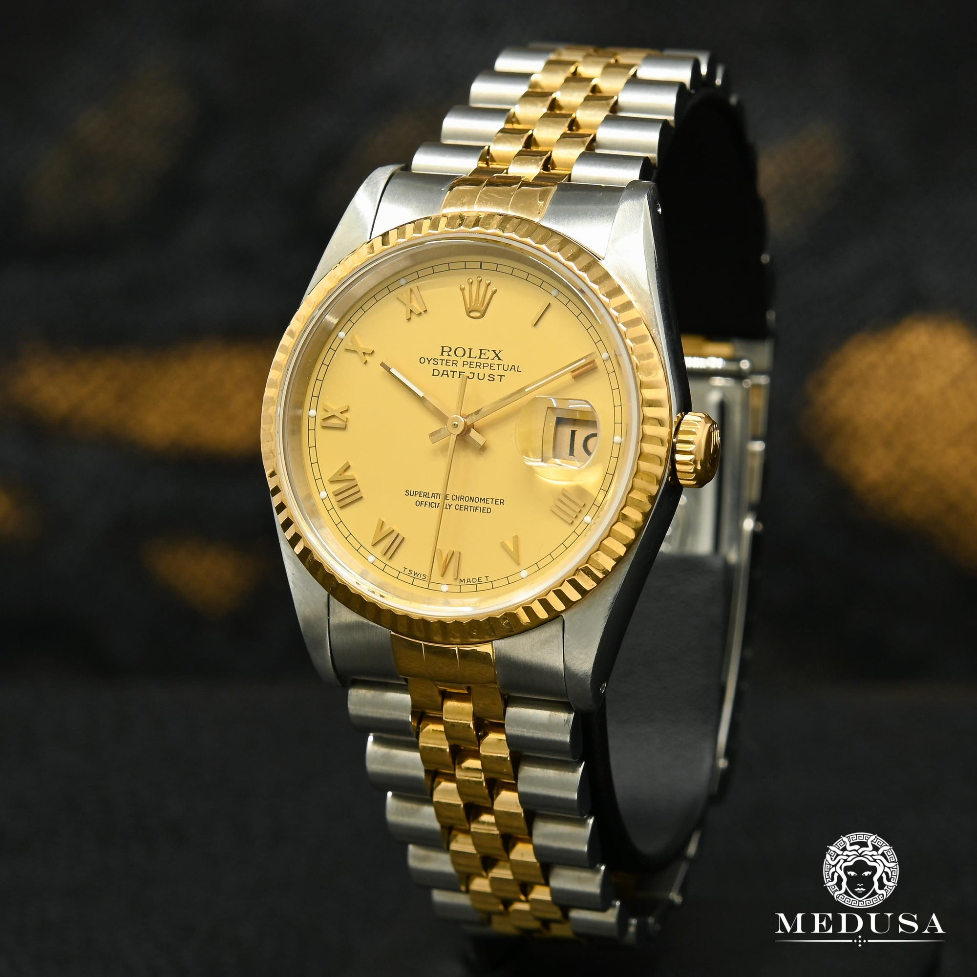 Rolex Datejust 36mm - Champagne Romain