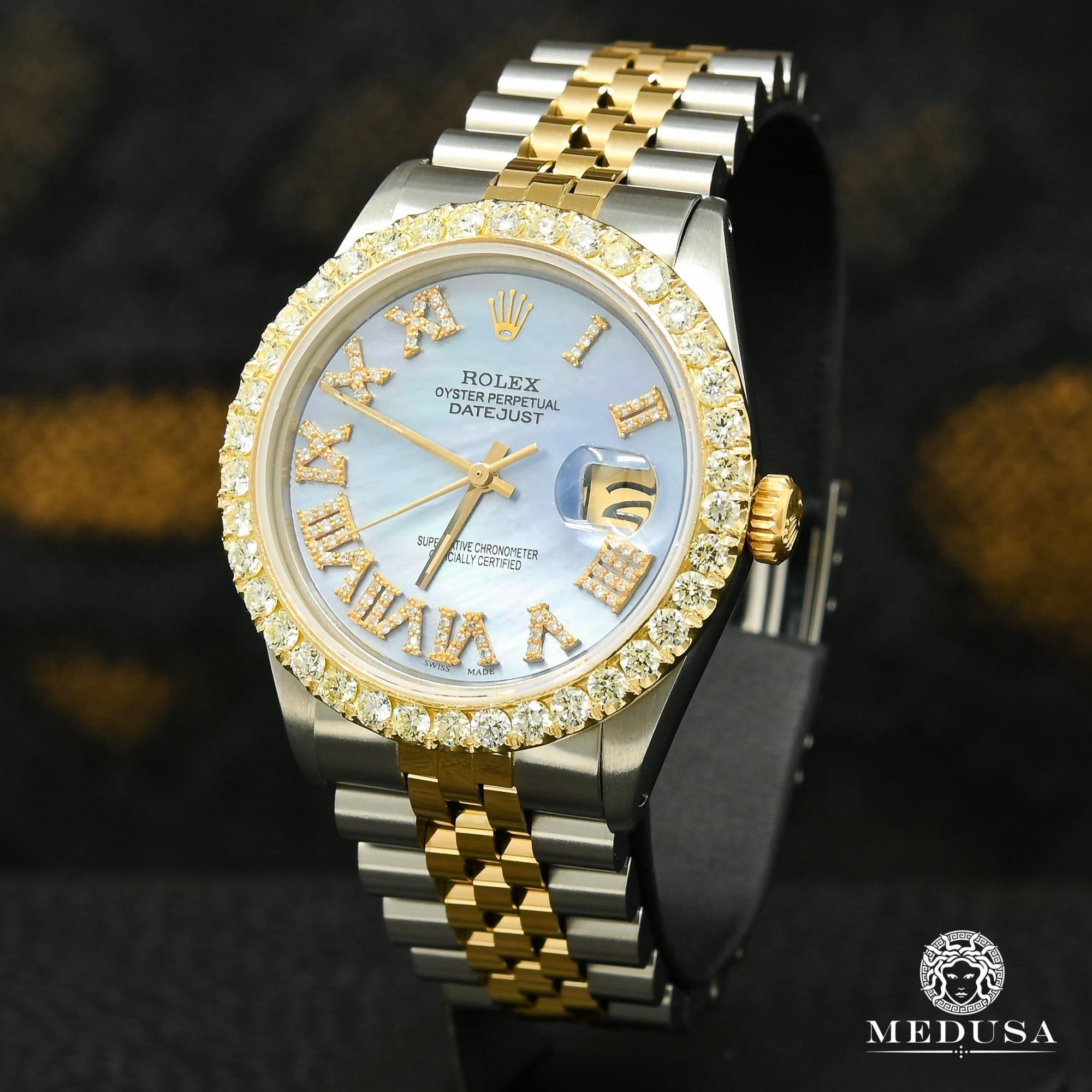 Rolex Datejust 36mm - Cyan ''Mother of Pearl''
