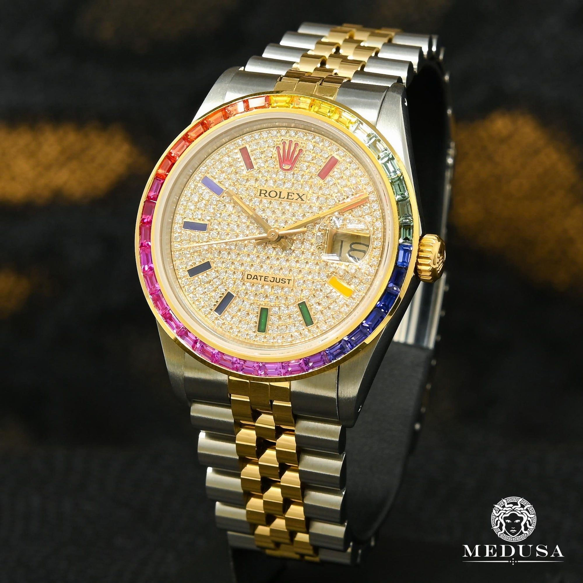 Rolex Datejust 36mm - Iced Rainbow