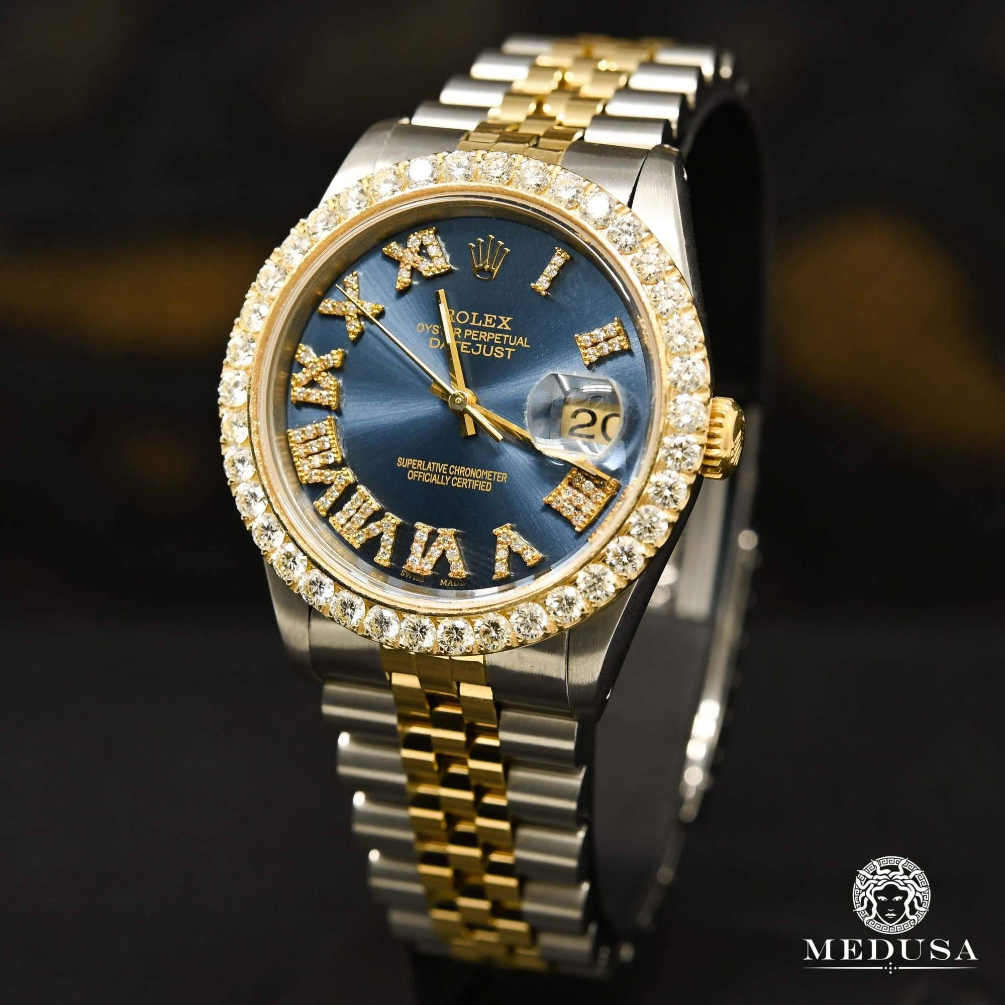 Rolex Datejust 36mm - Navy Chiffre Romain