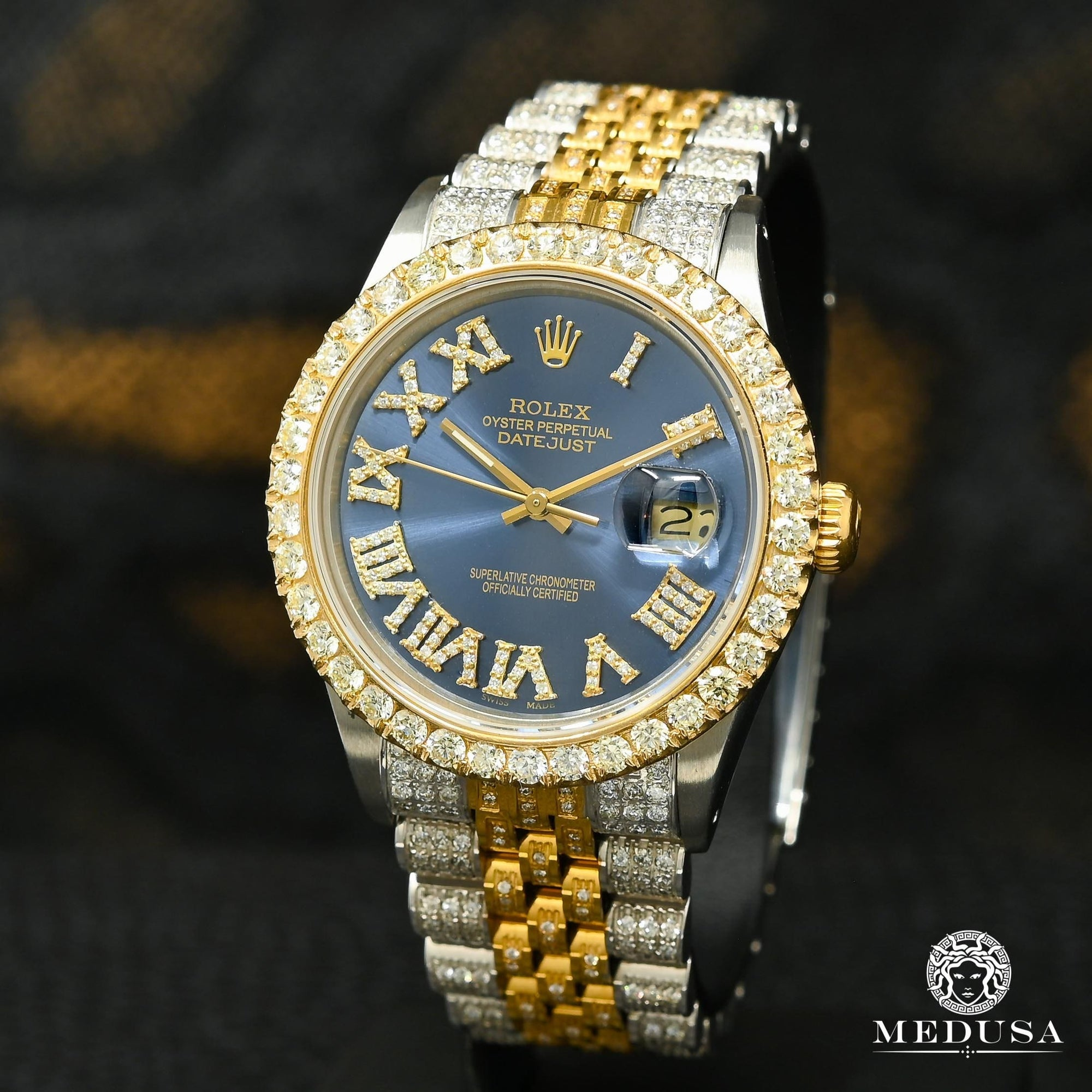 Rolex Datejust 36mm - Navy Iced