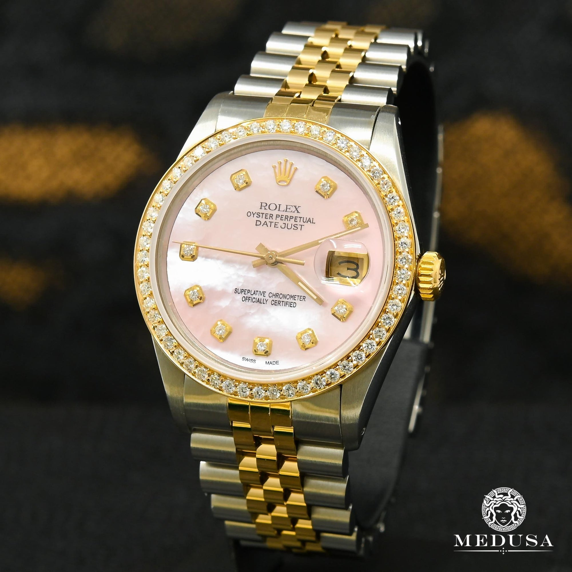 Rolex Datejust 36mm - Pink ''Mother of Pearl''