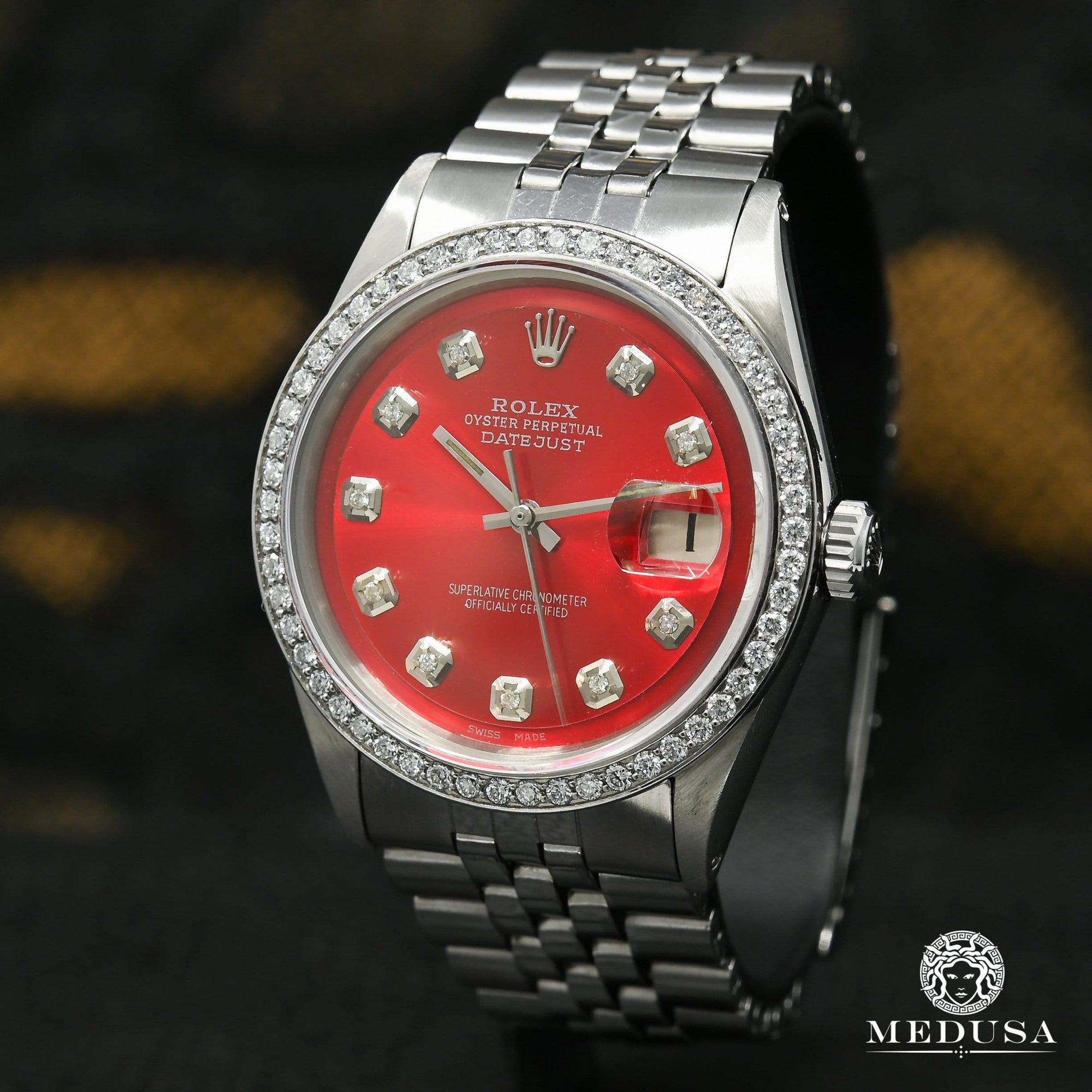 Rolex Datejust 36mm - Rouge Classic Iced