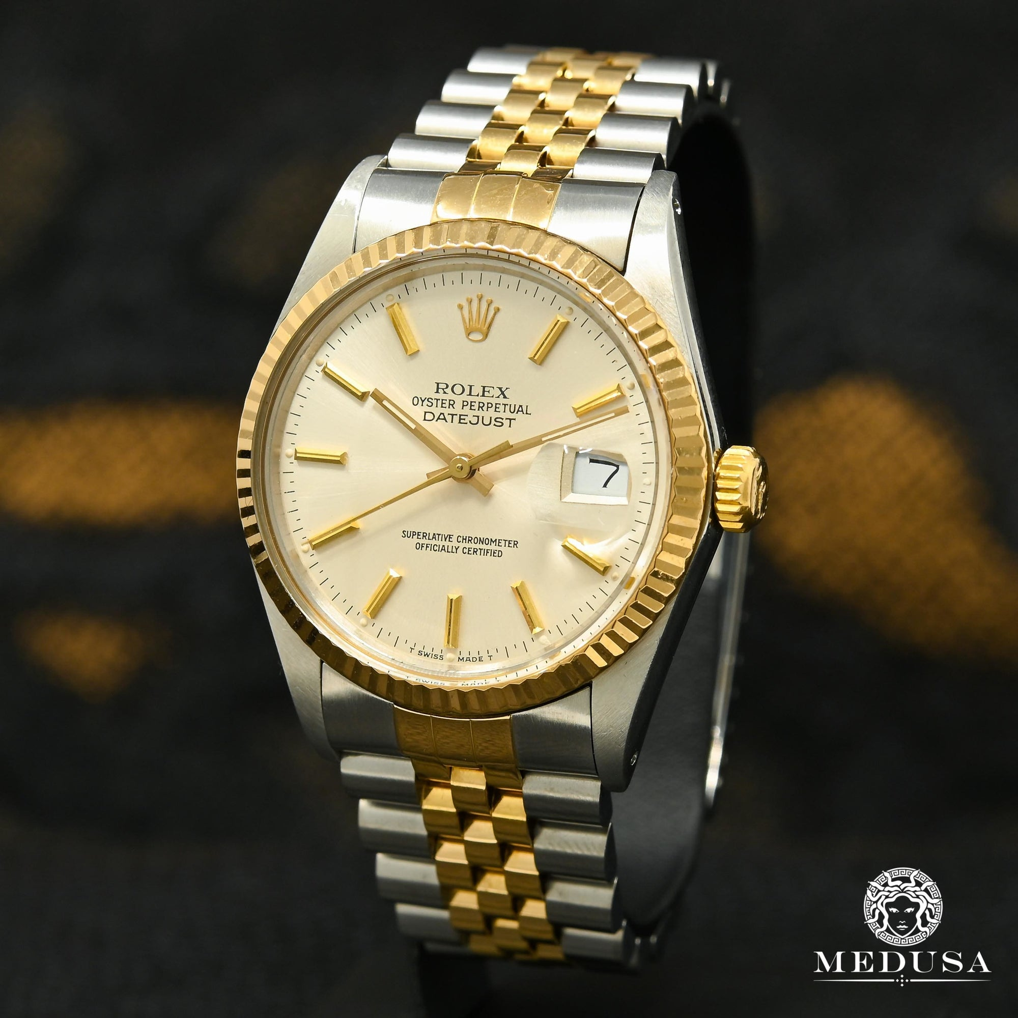 Rolex Datejust 36mm - Silver Stick