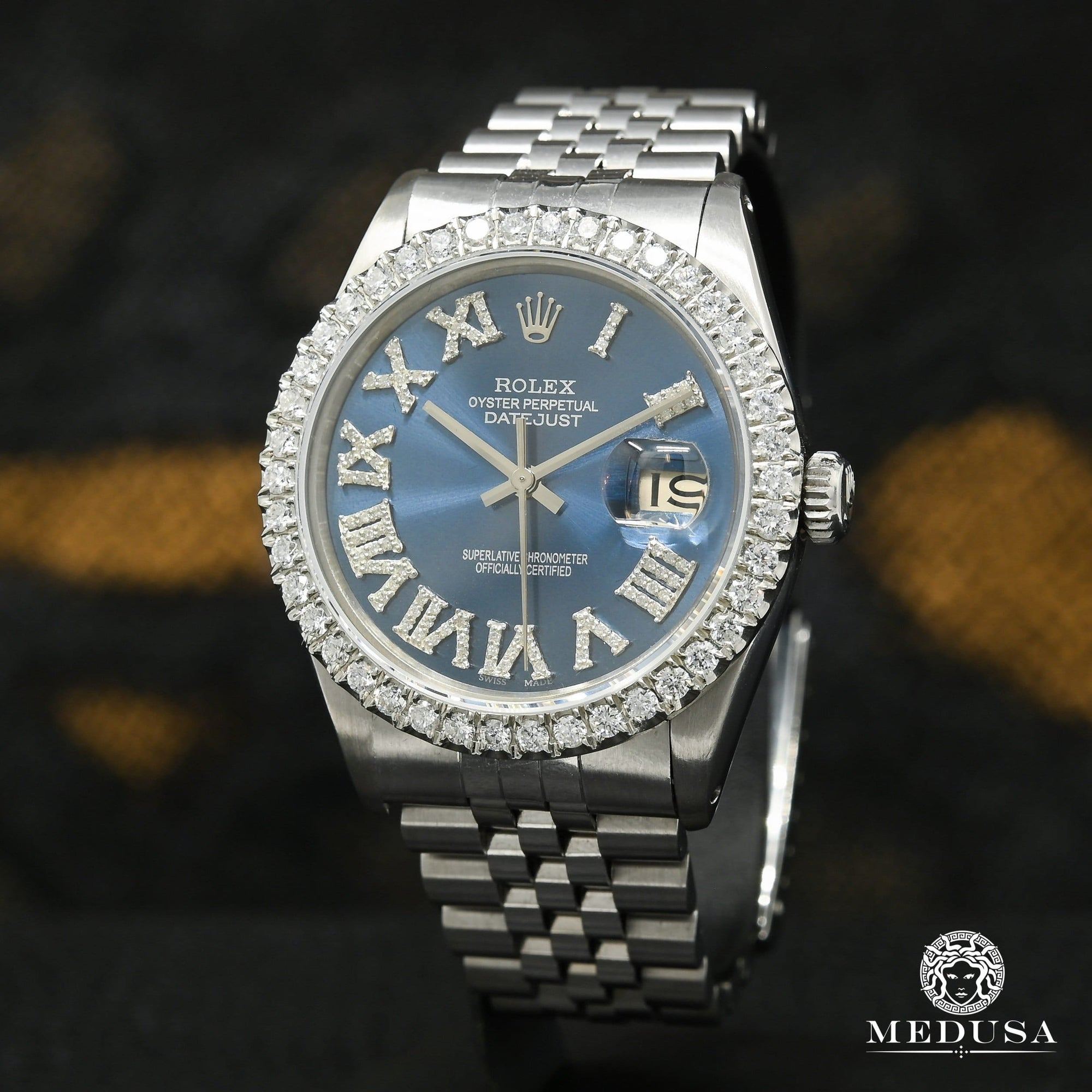 Rolex Datejust 36mm - Stainless Blue Romain